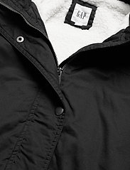 GAP - V-SHERPA PARKA - parka coats - true black v2 2 - 2