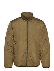 Reversible Fleece Jacket - RIPE OLIVE