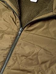 GAP - Reversible Fleece Jacket - basic-sweatshirts - ripe olive - 2