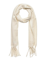 Brushed Scarf - IVORY FROST