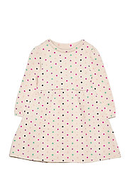 Toddler Cozy Polk-A-Dot Dress - DOT PRINT