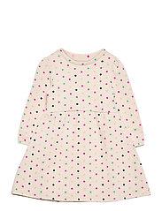 Toddler Cozy Polk-A-Dot Dress - DOT PRINT