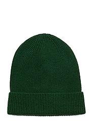 Rib Beanie - PINE GREEN