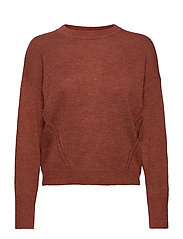 Dolman Crewneck Sweater - RUSTY 244