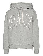 Gap Logo Easy Hoodie - B10 GREY HEATHER