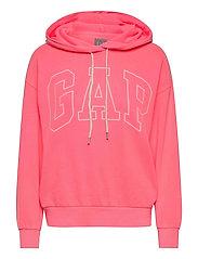 Gap Logo Easy Hoodie - SASSY PINK