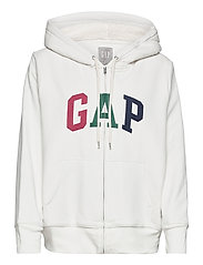 Gap Logo Sherpa Hoodie - CARLS STONE
