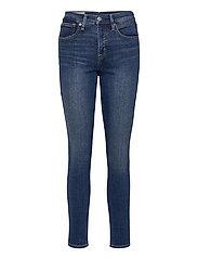 High Rise True Skinny Jeans with Secret Smoothing Pockets - DARK INDIGO V2