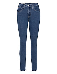 High Rise True Skinny Jeans with Secret Smoothing Pockets - MEDIUM INDIGO 8