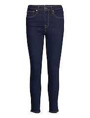 High Rise True Skinny Jeans with Secret Smoothing Pockets - RINSED