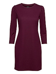 Ribbed Dress - SECRET PLUM