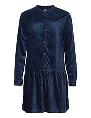 Corduroy Shirtdress - NIGHT