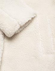 GAP - Sherpa Teddy Jacket - faux fur - ivory - 3