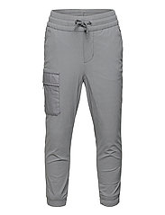 Kids Lined Hybrid Pull-On Pants with QuickDry - NEW SHADOW