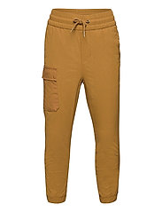 Kids Lined Hybrid Pull-On Pants with QuickDry - PALOMINO BROWN GLOBAL