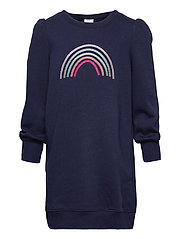 Kids Sweatshirt Dress - NAVY UNIFORM