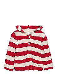 Baby Stripe Sweater - PURE RED STRIPE