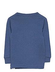 GAP - babyGap 100% Organic Cotton Be Kind Graphic PJ Set - 2-delte sæt - blue shade - 4