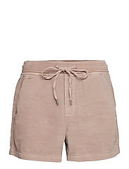 Pull-On Shorts with Washwell™ - QUAIL