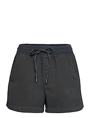 Pull-On Shorts with Washwell™ - WASHED BLACK