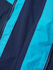 GAP - Kids 100% Recycled Polyester Colorblock Windbuster - windbreaker jassen - cyan blue 579 - 5