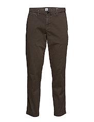 Vintage Khakis in Slim Fit with GapFlex - FLINT GREY