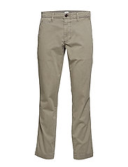 Vintage Khakis in Slim Fit with GapFlex - SIDEWALK GREY