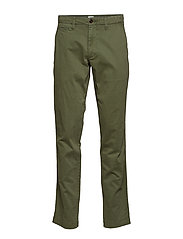 Vintage Khakis in Slim Fit with GapFlex - SPRING OLIVE