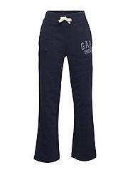 Kids Gap Logo Pants in Fleece - BLUE GALAXY