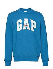 Gap Logo Fleece Crewneck Sweatshirt - WINTER NIGHT
