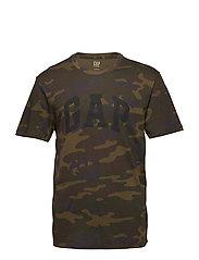 Logo Camo Print T-Shirt - CAMO PRINT