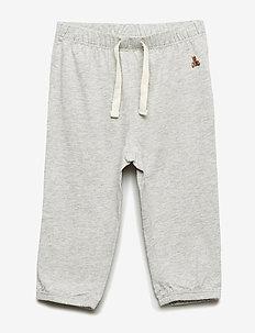 Baby Knit Pants - HEATHER GREY B08