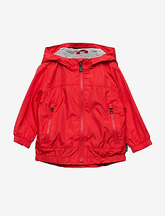 Toddler Jersey-Lined Windbuster - PURE RED V2