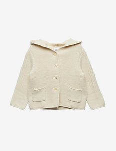 Baby Brannan Bear Sweater - gilets - french vanilla