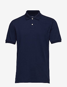 All Day Pique Polo Shirt - kortærmede - tapestry navy