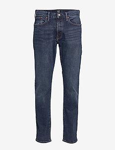 Slim Straight Jeans with GapFlex - slim jeans - worn dark