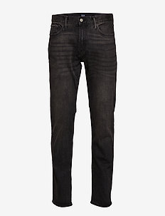 Slim Straight Jeans with GapFlex - slim jeans - washed black