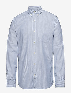 Lived-In Stretch Oxford Shirt - checkered shirts - bengal stripes
