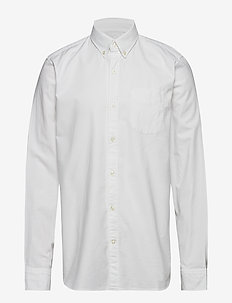 Lived-In Stretch Oxford Shirt - OPTIC WHITE