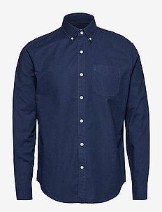 Lived-In Stretch Oxford Shirt - koszule w kratkę - tapestry navy