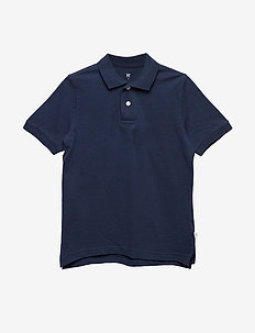 Kids Uniform Short Sleeve Polo Shirt - true indigo 340