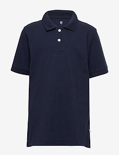 Kids Uniform Short Sleeve Polo Shirt - poloskjorter - true indigo 340