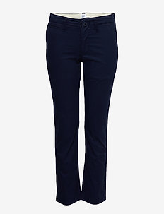 Kids Chinos in Stretch - bukser - navy uniform