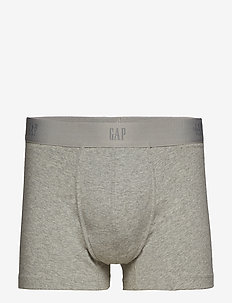 "3"" Basic Stretch Boxer Briefs - B10 GREY HEATHER"