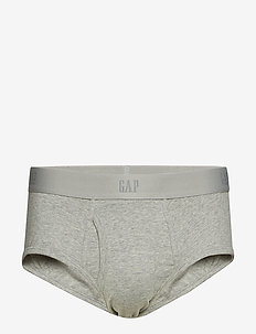 BASIC BRIEF - B10 GREY HEATHER