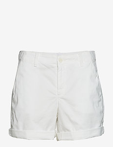 "5"" Girlfriend Chino Shorts - OPTIC WHITE 3"