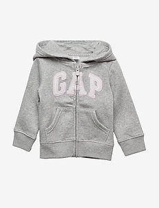 Toddler Gap Logo Hoodie Sweatshirt - hoodies - heather grey