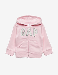 Toddler Gap Logo Hoodie Sweatshirt - OLD SCHOOL PINK