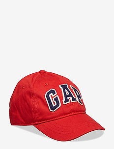 Kids Gap Logo Baseball Hat - NEW NORDIC RED