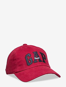 Logo Baseball Hat - kasketter - burgundy